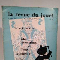 Juguetes antiguos: JUNIO 1964 - REVISTA DE JUGUETES CATÁLOGO EN FRANCÉS. Lote 147716410