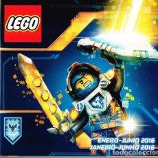 Juguetes antiguos: CATÁLOGO LEGO 2016. Lote 181441727
