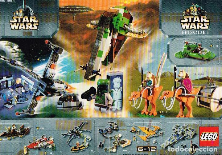 MINI CATÁLOGO LEGO - STAR WARS (Juguetes - Catálogos y Revistas de Juguetes)
