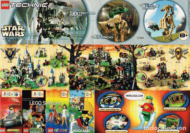 Juguetes antiguos: Mini Catálogo Lego - Star Wars - Foto 2 - 148850162