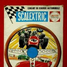 Juguetes antiguos: CATALOGO SCALEXTRIC (1968-69) CIRCUIT DE COURSE AUTOMOBILE (EN FRANCES - FRANÇAIS) MECCANO TRI-ANG. Lote 149936298