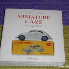 Juguetes antiguos: CATÁLOGO - MINIATURE CARS - AÑO 2000 -. Lote 150517354