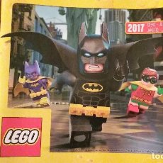 Juguetes antiguos: CATALOGO LEGO 2017. Lote 151009838