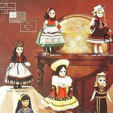 Juguetes antiguos: PRECIOSO CATALOGO DE MUÑECAS EFFANBEE COLECCION 1979. Lote 151637194