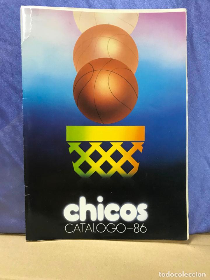 CATALOGO JUGUETES CHICOS 1986 - IBI - ALICANTE, VER DESCRIPCION Y FOTOS, TARIFA PRECIOS (Juguetes - Catálogos y Revistas de Juguetes)