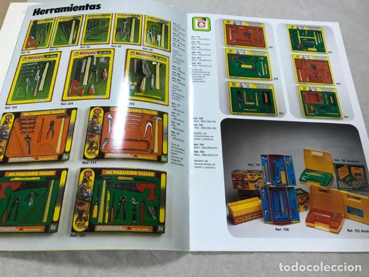 Juguetes antiguos: CATALOGO JUGUETES CHICOS 1986 - IBI - ALICANTE, VER DESCRIPCION Y FOTOS, TARIFA PRECIOS - Foto 5 - 151709550