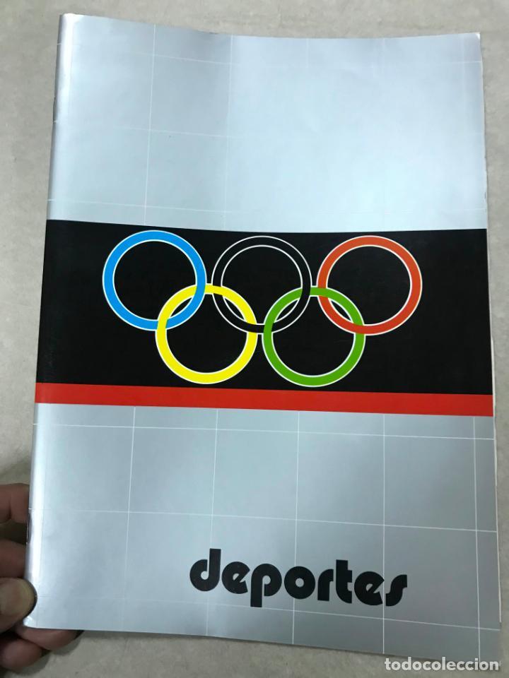 CATALOGO DEPORTES HISINSA HISPANO INTERNACIONAL, CON TARIFA DE PRECIOS DIV. DEPORTES 1986, VER FOTOS (Juguetes - Catálogos y Revistas de Juguetes)
