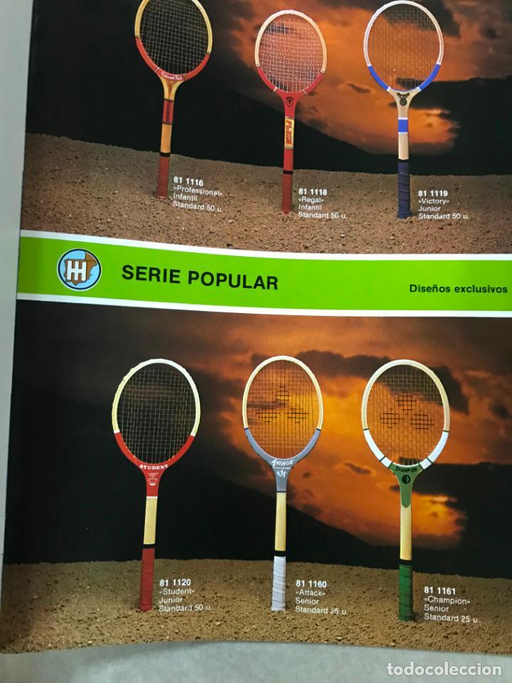 Juguetes antiguos: CATALOGO DEPORTES HISINSA HISPANO INTERNACIONAL, CON TARIFA DE PRECIOS DIV. DEPORTES 1986, VER FOTOS - Foto 6 - 151711670