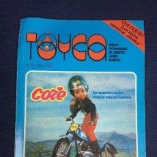 Juguetes antiguos: TOYCA REVISTA INTERNACIONAL DE JUGUETES JUEGOS Y DEPORTES Nº 16 1977 CORE. Lote 152887138