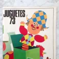 Juguetes antiguos: JUGUETES 73 - EL CORTE INGLÉS - EXIN, TENTE, MADELMAN, FAMOSA, NANCY, AIRGAM, HOGARIN, GEYPER, RICO. Lote 49912862