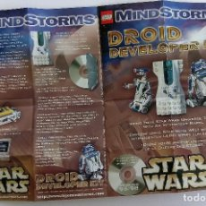 Juguetes antiguos: CATÁLOGO FOLLETO LEGO 2002 DINAMARCA. STAR WARS MINDSTORMS R2-D2. Lote 154401142