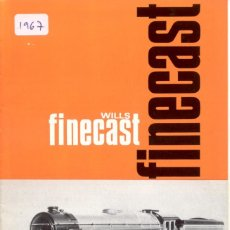 Juguetes antiguos: CATÀLOGO WILLS FINECAST LOCOMOTIVE KITS & FITTING OO GAUGE 1966.2 - EN INGLÉS . Lote 155594350