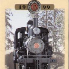 Juguetes antiguos: CATÀLOGO BACHMANN TRAINS USA 1999 HO N O G SCALES - EN INGLÉS . Lote 155638686