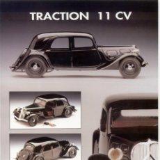 Juguetes antiguos: CATÀLOGO TRACTION 11 CV CITROEN AUTO ART COLLECTION FULGUREX 1992 JEAN-PAUL FONTANELLE - EN FRANCÉS. Lote 155643026