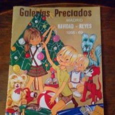 Juguetes antiguos: CATÁLOGO DE JUGUETES GALERÍAS PRECIADOS FAMOSA SCALEXTRIC JECSAN.... Lote 156191738