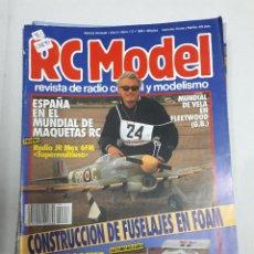 Juguetes antiguos: 12891 - RC MODEL - Nº 117 - AÑO 1990 - REVISTA DE RADIO CONTROL Y MODELISMO. Lote 156484486