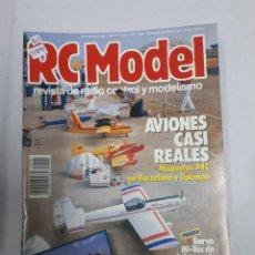 Juguetes antiguos: 12892 - RC MODEL - Nº 104 - AÑO 1989 - REVISTA DE RADIO CONTROL Y MODELISMO. Lote 156484586