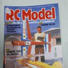 Juguetes antiguos: 12893 - RC MODEL - Nº 121 - AÑO 1991 - REVISTA DE RADIO CONTROL Y MODELISMO. Lote 156484674