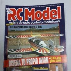 Juguetes antiguos: 12894 - RC MODEL - Nº 124 - AÑO 1991 - REVISTA DE RADIO CONTROL Y MODELISMO. Lote 156484786