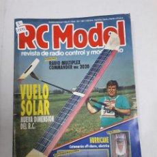 Juguetes antiguos: 12895 - RC MODEL - Nº 126 - AÑO 1991 - REVISTA DE RADIO CONTROL Y MODELISMO. Lote 156484838