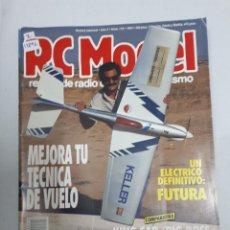 Juguetes antiguos: 12896 - RC MODEL - Nº 118 - AÑO 1990 - REVISTA DE RADIO CONTROL Y MODELISMO. Lote 156485126
