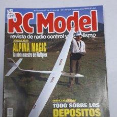 Juguetes antiguos: 12897 - RC MODEL - Nº 125 - AÑO 1991 - REVISTA DE RADIO CONTROL Y MODELISMO. Lote 156485246