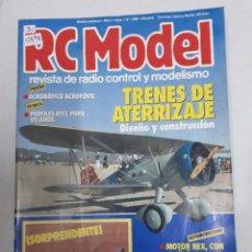 Juguetes antiguos: 12898 - RC MODEL - Nº 112 - AÑO 1990 - REVISTA DE RADIO CONTROL Y MODELISMO. Lote 156485302