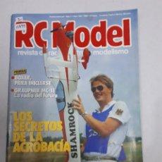 Juguetes antiguos: 12899 - RC MODEL - Nº 108 - AÑO 1990 - REVISTA DE RADIO CONTROL Y MODELISMO. Lote 156485390