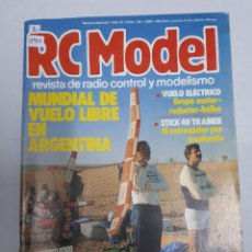 Juguetes antiguos: 12901 - RC MODEL - Nº 102 - AÑO 1989 - REVISTA DE RADIO CONTROL Y MODELISMO. Lote 156485542