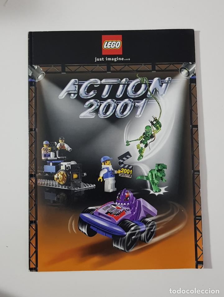 CATÁLOGO JUGUETES - LEGO ACTION 2001 STAR WARS CLASSIC + EPISODIO 1 (Juguetes - Catálogos y Revistas de Juguetes)