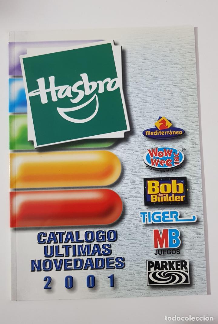 CATÁLOGO JUGUETES - HASBRO 2001 ÚLTIMAS NOVEDADES MEDITERRANEO TIGER MB ACTION MAN PARKER (Juguetes - Catálogos y Revistas de Juguetes)