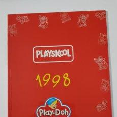 Juguetes antiguos: CATÁLOGO JUGUETES - PLAYSKOOL PLAY-DOH 1998. Lote 156768710