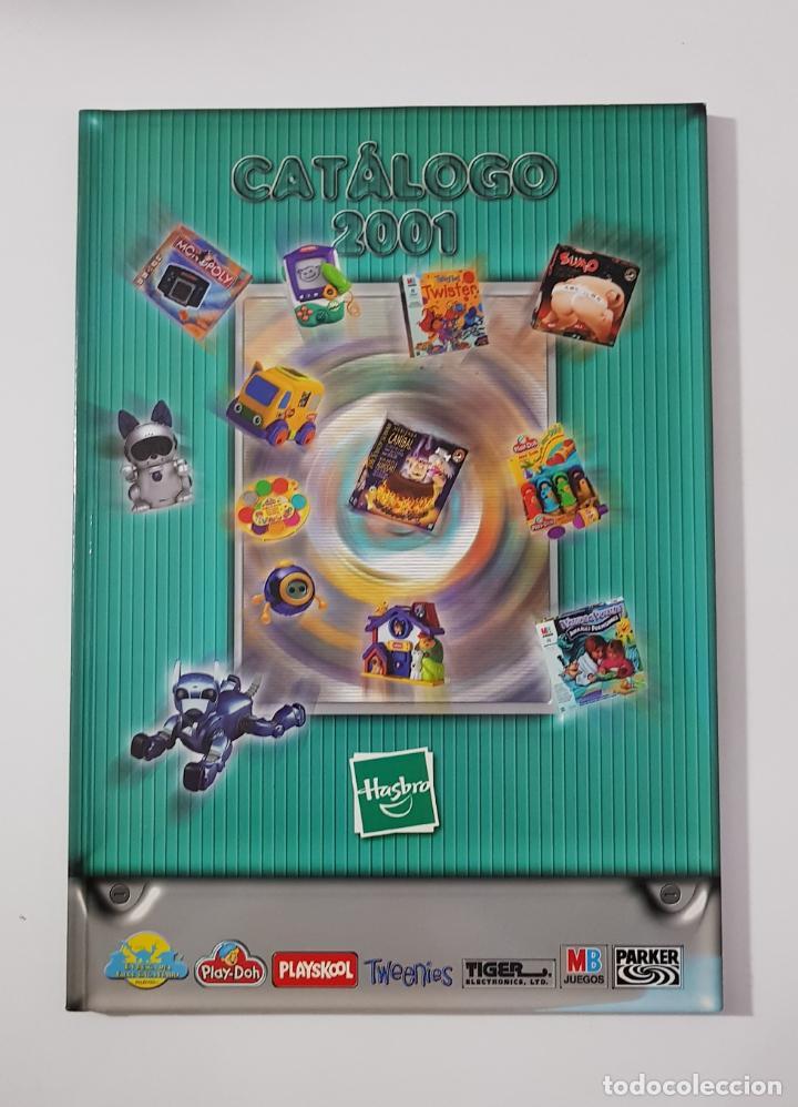 CATÁLOGO JUGUETES - HASBRO 2001 PLAY-DOH PLAYSKOOL TIGER MB PARKER (Juguetes - Catálogos y Revistas de Juguetes)