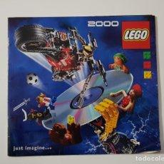 Juguetes antiguos: CATÁLOGO JUGUETES - LEGO 2000 STAR WARS CLASSIC + EPISODIO 1. Lote 156770626