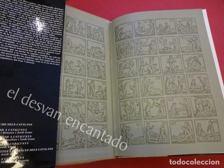 Juguetes antiguos: LA JOGUINA A CATALUNYA. Libro Edicions 62. Muy buen estado - Foto 3 - 157816266