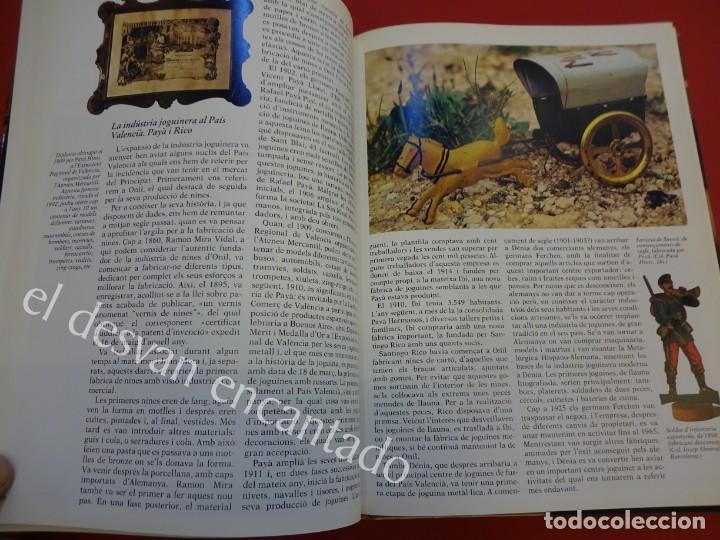 Juguetes antiguos: LA JOGUINA A CATALUNYA. Libro Edicions 62. Muy buen estado - Foto 4 - 157816266