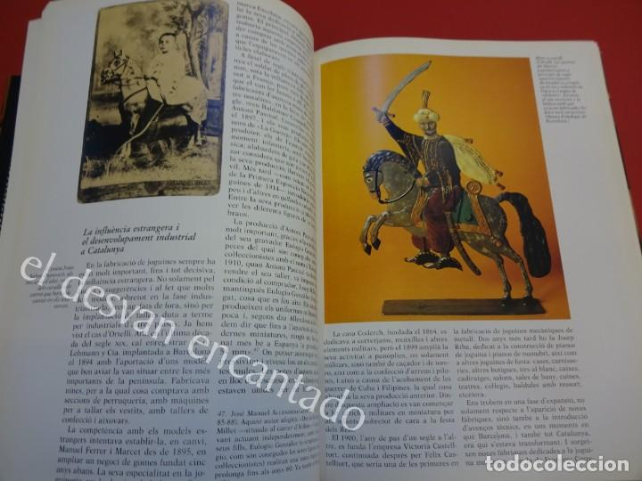 Juguetes antiguos: LA JOGUINA A CATALUNYA. Libro Edicions 62. Muy buen estado - Foto 5 - 157816266