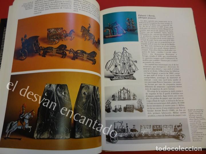 Juguetes antiguos: LA JOGUINA A CATALUNYA. Libro Edicions 62. Muy buen estado - Foto 6 - 157816266