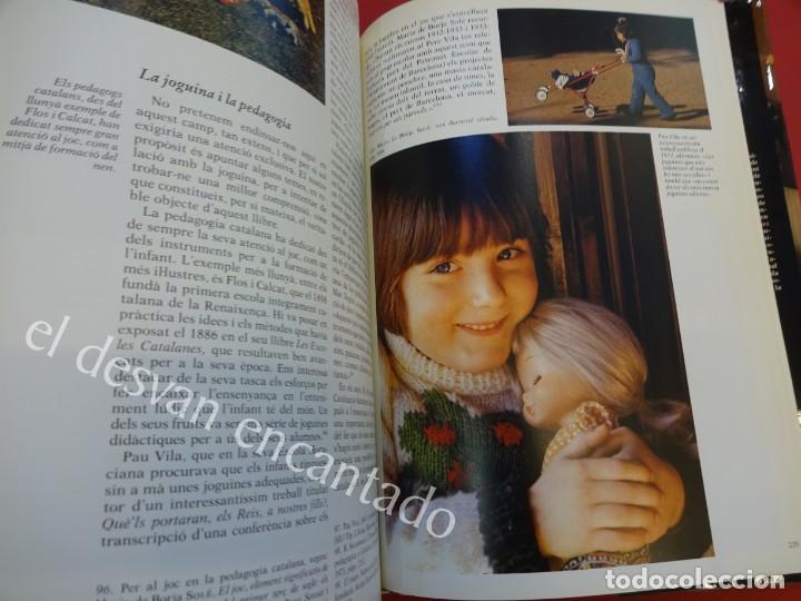 Juguetes antiguos: LA JOGUINA A CATALUNYA. Libro Edicions 62. Muy buen estado - Foto 7 - 157816266