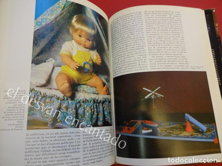 Juguetes antiguos: LA JOGUINA A CATALUNYA. Libro Edicions 62. Muy buen estado - Foto 8 - 157816266