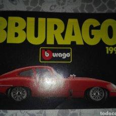 Juguetes antiguos: CATÁLOGO BURAGO 1992. Lote 157919540