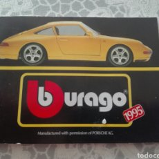 Juguetes antiguos: CATÁLOGO BURAGO 1995. Lote 157920158