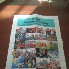 Juguetes antiguos: CATÁLOGO SEGA GAMES. Lote 158349784