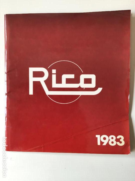 RICO CATALOGO JUGUETES AÑO1983 (Juguetes - Catálogos y Revistas de Juguetes)