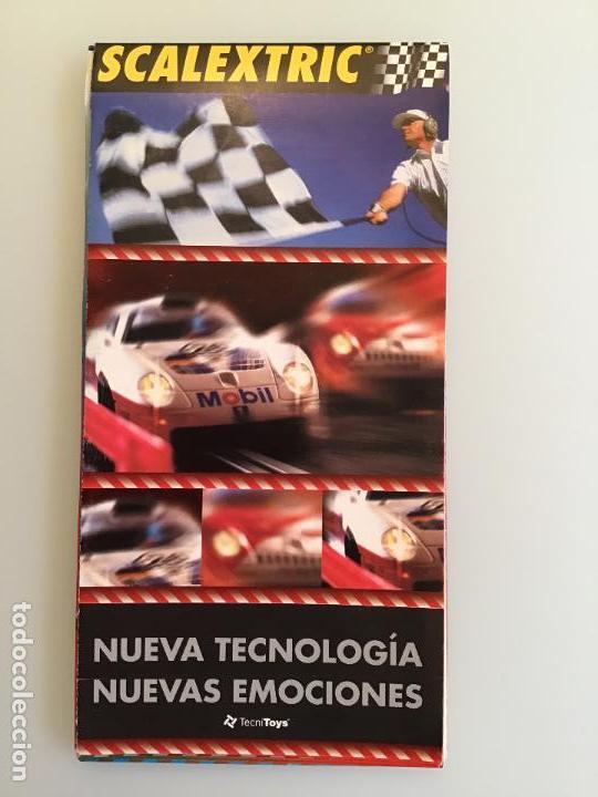SCALEXTRIC TECNITOYS CATALOGO (Juguetes - Catálogos y Revistas de Juguetes)