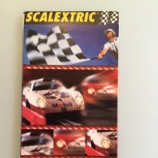 Juguetes antiguos: SCALEXTRIC TECNITOYS CATALOGO. Lote 160143026