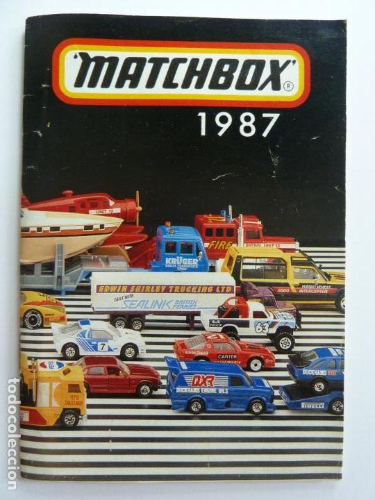 CATÁLOGO MATCHBOX 1987 (Juguetes - Catálogos y Revistas de Juguetes)