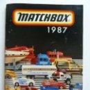 Juguetes antiguos: CATÁLOGO MATCHBOX 1987. Lote 160254574