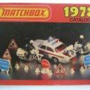 Juguetes antiguos: CATÁLOGO MATCHBOX 1978. Lote 160254738