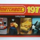 Juguetes antiguos: CATÁLOGO MATCHBOX 1977. Lote 160254830